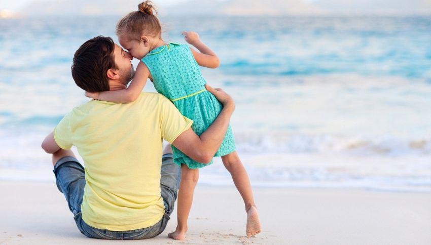 Maschi e femmine diversi per il cervello di papà: ecco perché