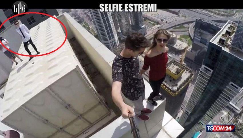 Rovazzi, servizio choc a Le Iene sui selfie estremi