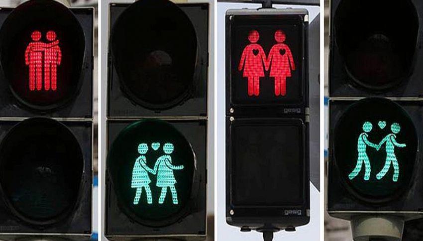 A Torino il semaforo 'gay friendly'