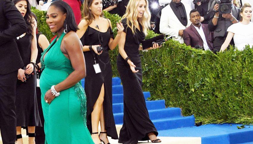 Ecco il pancione di Serena Williams