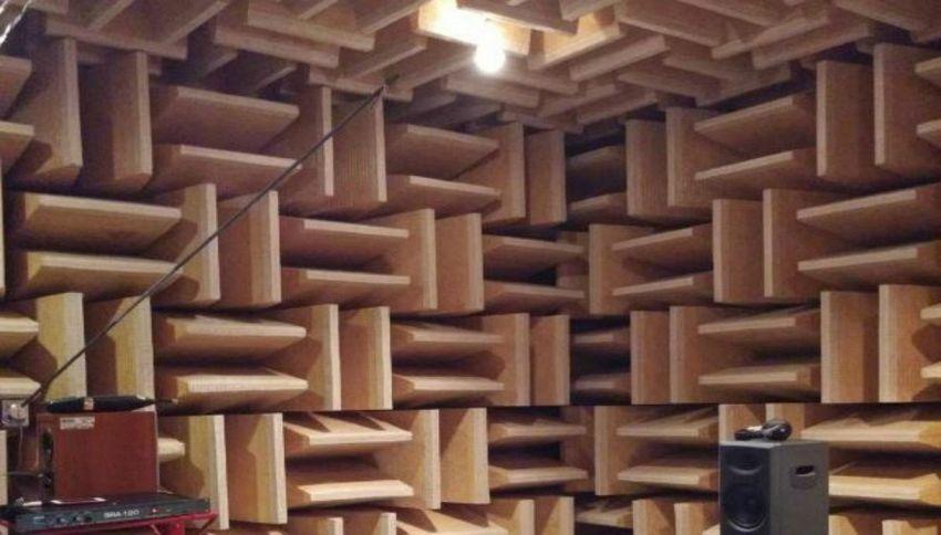 Il luogo più silenzioso del mondo è una camera