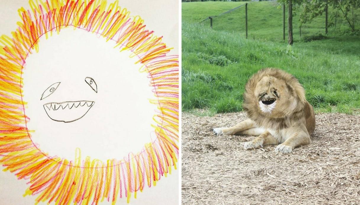 Disegno Di Un Bambino : I disegni di un bambino diventano reali i disegni di un bambino
