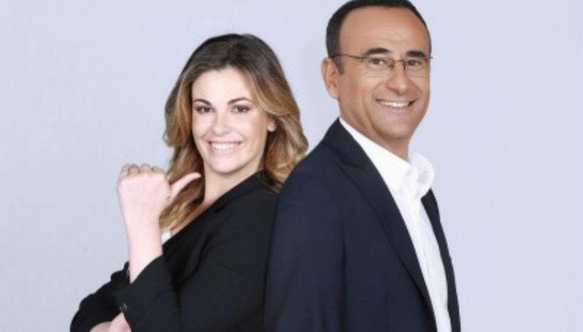 Carlo Conti difende Vanessa Incontrada dopo le critiche sul peso