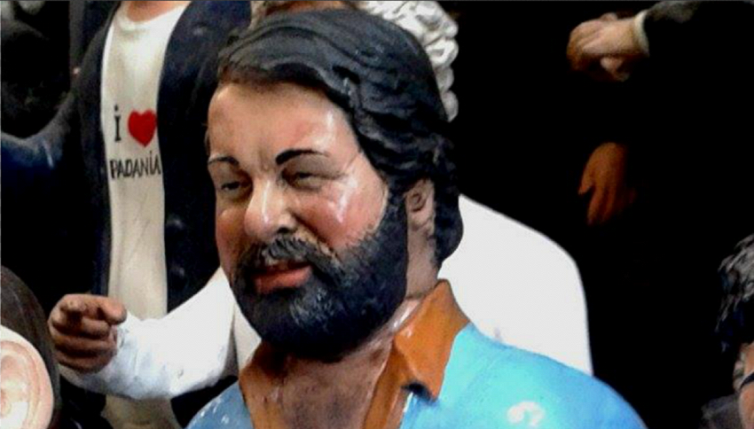 Bud Spencer in miniatura: statuetta cult in Germania
