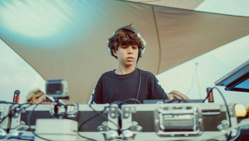Chi è Federico Gardenghi, il più giovane dj del mondo