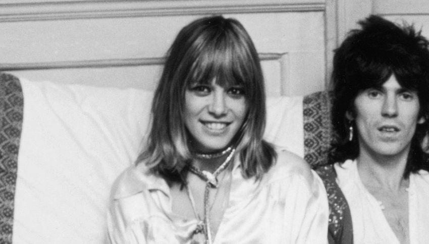 È morta Anita Pallenberg, la musa di Keith Richards