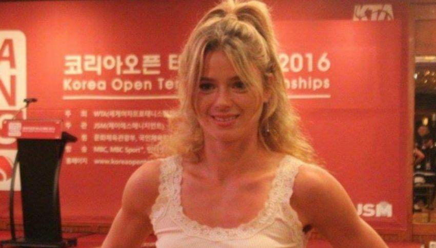 """Camila Giorgi, l'azzurra in """"erba"""" a Wimbledon"""