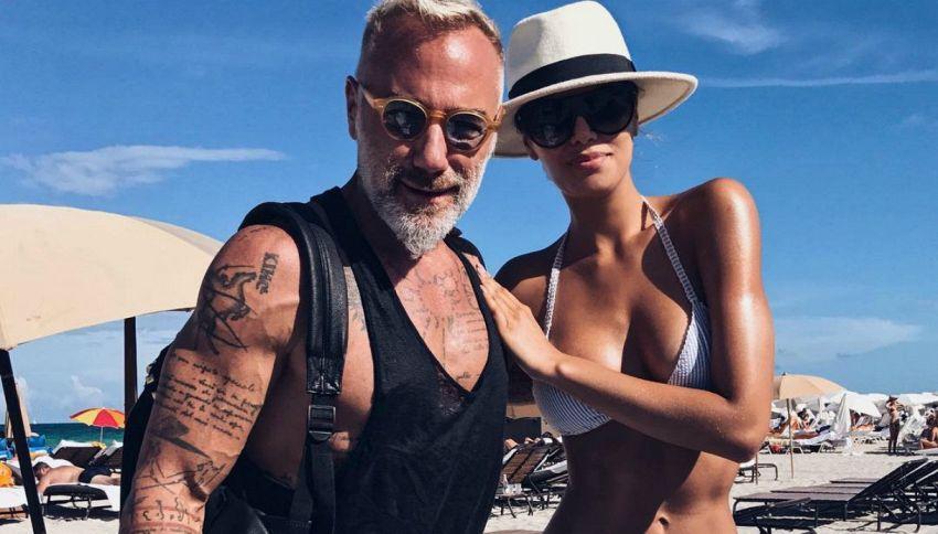 Gianluca Vacchi stregato da Miss Universo