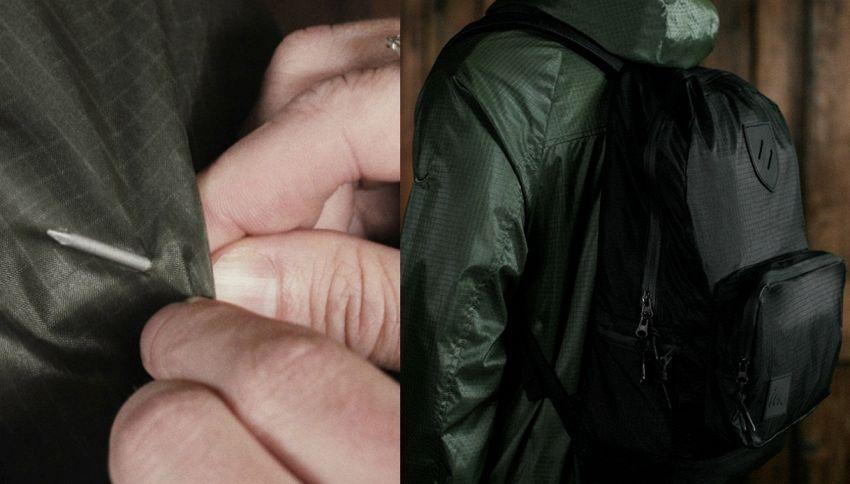 Ecco la prima giacca che si ripara da sola