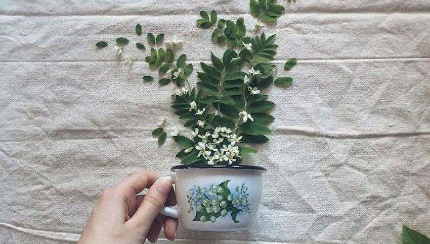 Floral Tea Story: le composizioni floreali di Marina Malinovaya