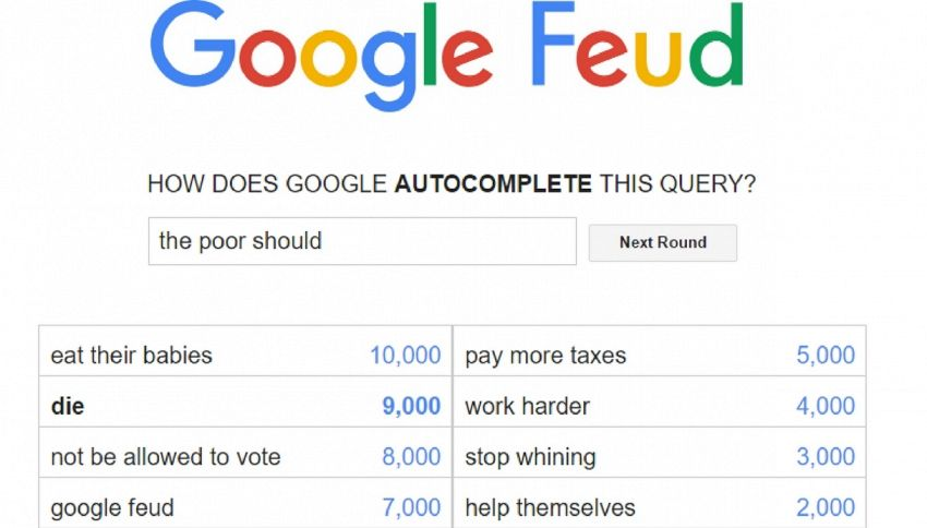 Google Feud: il gioco di Google che fa impazzire i ragazzini