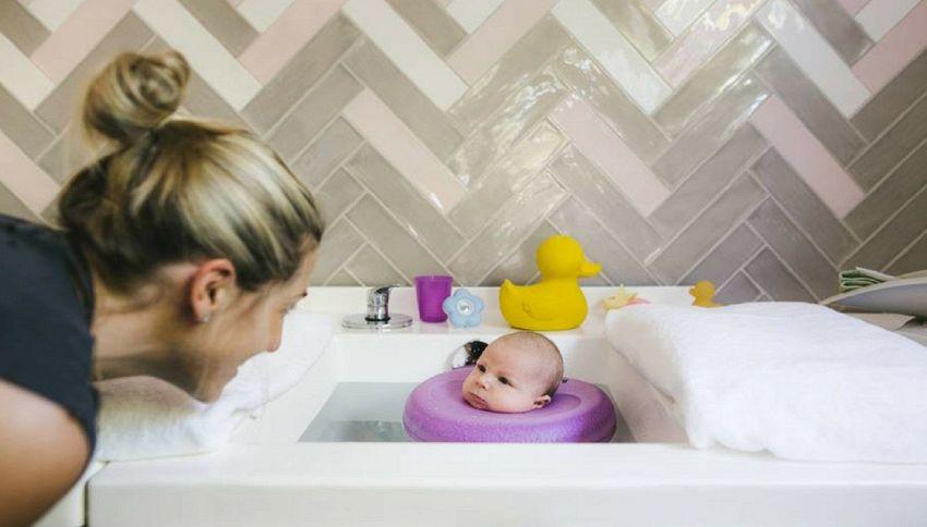 """Nella """"Baby SPA"""" di Perth i clienti hanno meno di sei mesi d'età"""