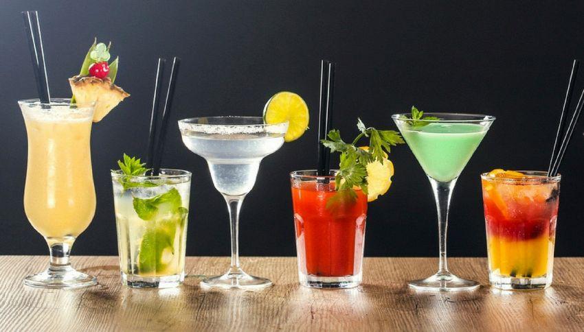 Conoscete le calorie che ha ogni cocktail?