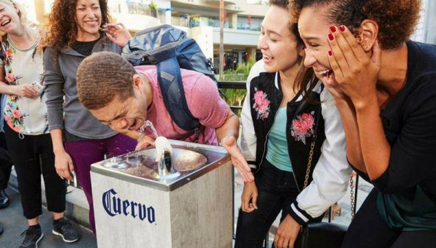 A Los Angeles arriva la prima fontana di tequila