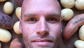 Mangia patate per un anno. Ecco cosa è successo al suo corpo
