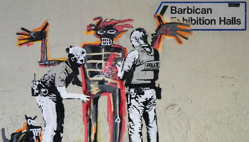 A Londra sono comparsi due nuovi murales di Banksy per Basquiat