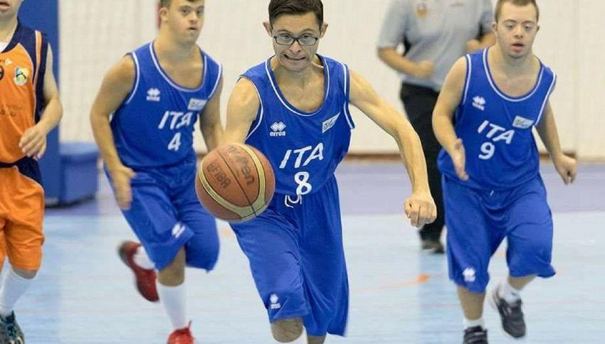 Nazionale Italiana di Basket Sindrome di Down è campione d'Europa
