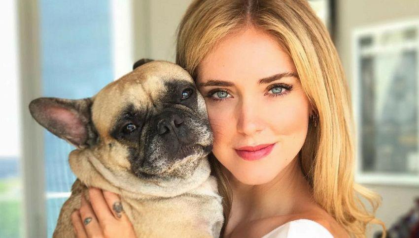 Chiara Ferragni paga 200 euro per far fare pipì al suo cane