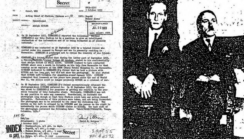 File segreto della Cia svela: Hitler vivo e fuggito in Argentina