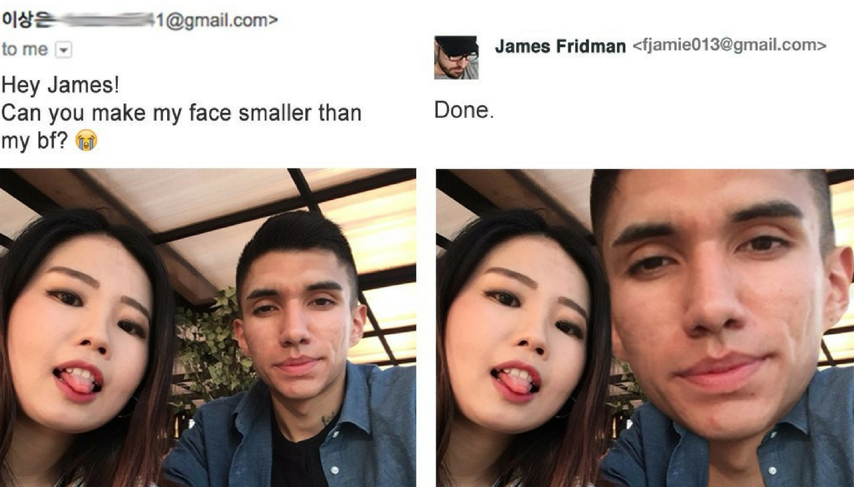 James Fridman, il mago del fotoritocco