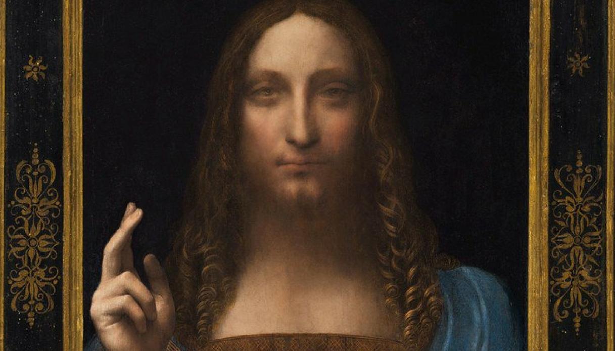 Salvator Mundi: all'asta l'opera perduta di Leonardo Da Vinci