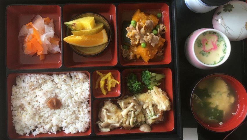 Il menu di un ospedale giapponese. Incredibile, ma vero