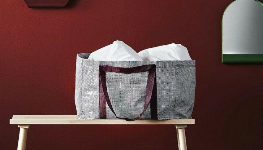 La borsa di Ikea cambia. Ecco come sarà