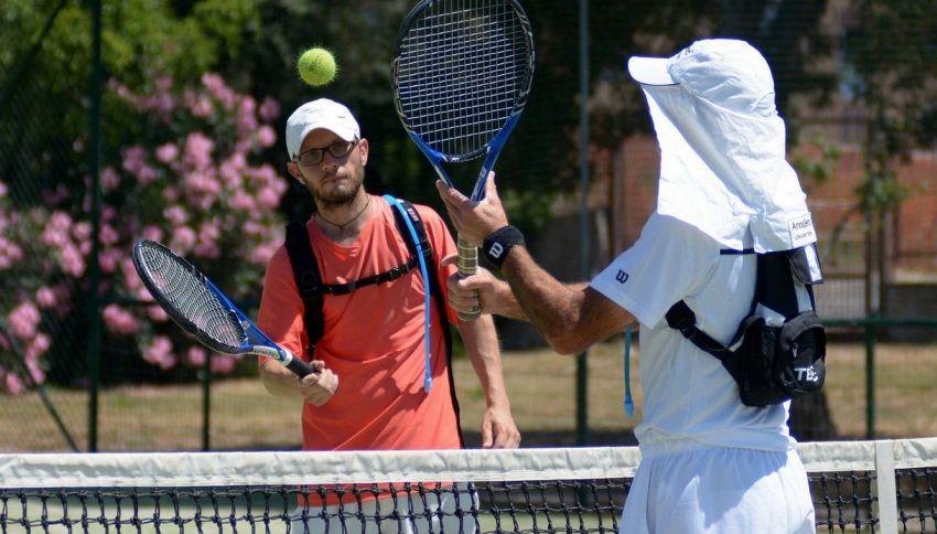 Il record del palleggio di tennis più lungo al mondo è italiano
