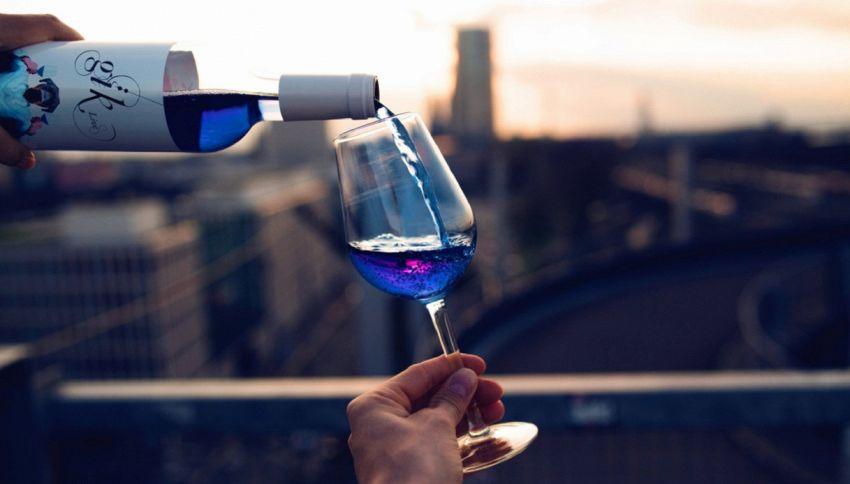Gik, il vino blu che fa impazzire il Giappone