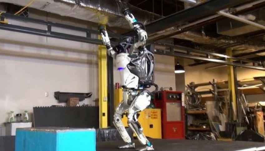 Arriva Atlas, il primo robot atleta