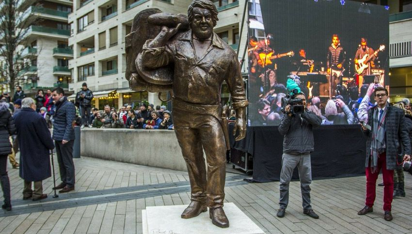 A Budapest arriva la statua di Bud Spencer