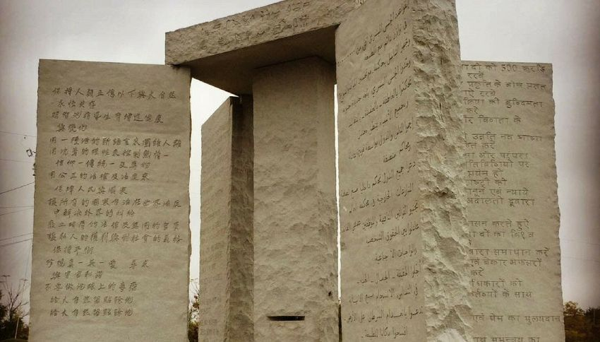 Il mistero del Georgia Guidestones, la Stonehenge degli Usa