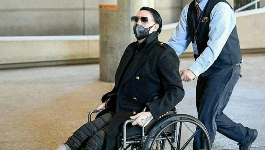 Il mistero sulla salute di Marilyn Manson: cosa gli è successo?