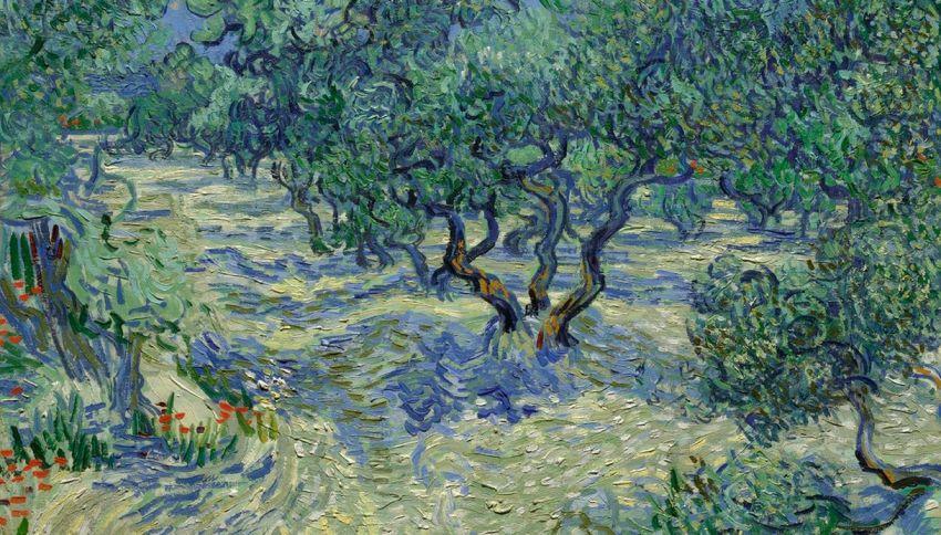 La cavalletta intrappolata in un Van Gogh per 128 anni