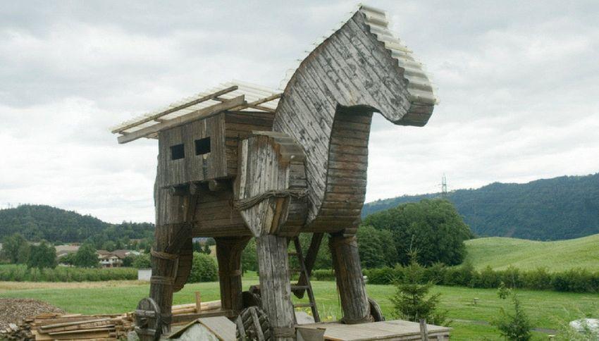 Il cavallo di Troia in realtà non è mai esistito. Ecco la verità