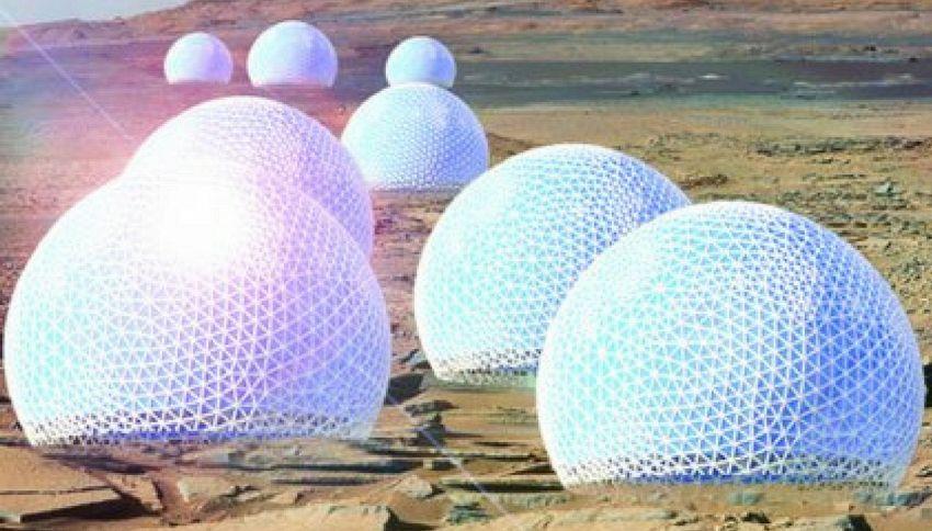 La prima città su Marte progettata da una studiosa italiana
