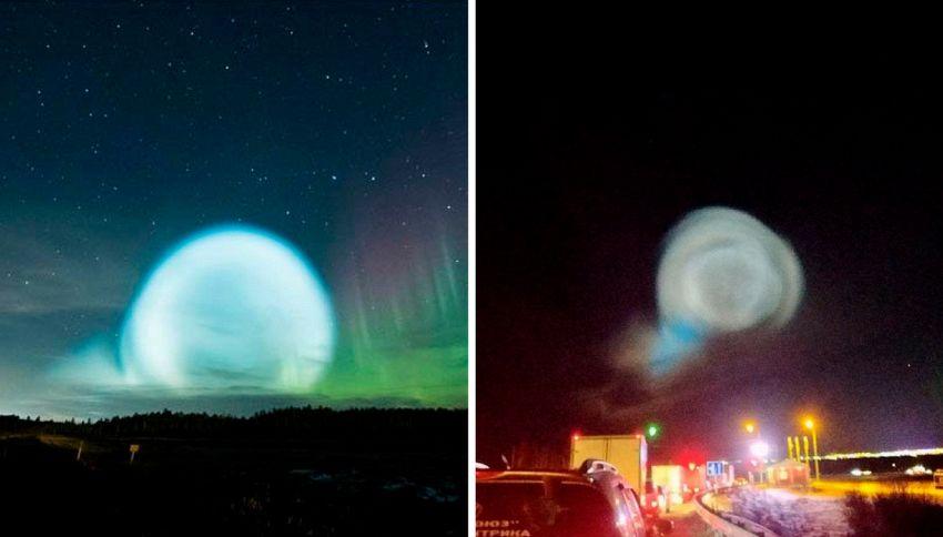 Le bolle giganti (blu e luminose) fotografate in Siberia