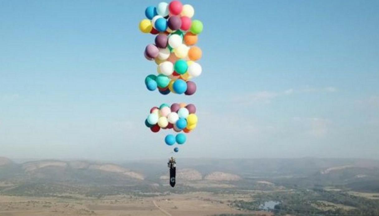 Volare con i palloncini? Da oggi è possibile