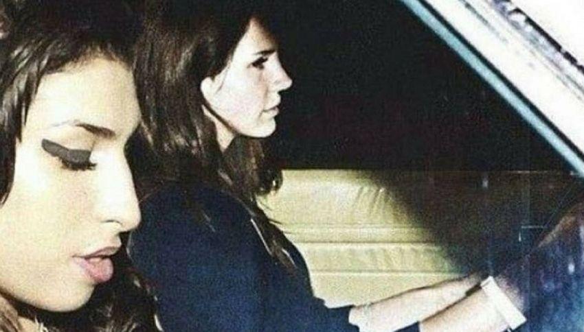 Lana Del Rey: la foto con Amy Winehouse che nasconde un segreto