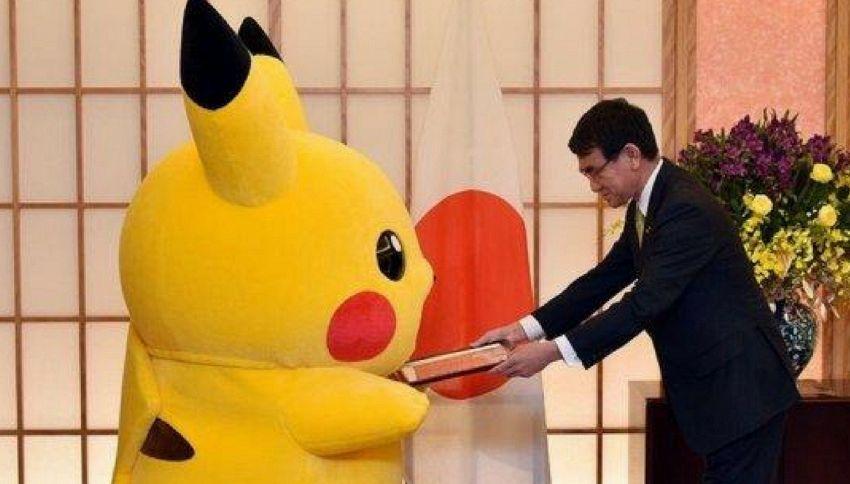 Pikachu ed Hello Kitty sono i nuovi ambasciatori giapponesi