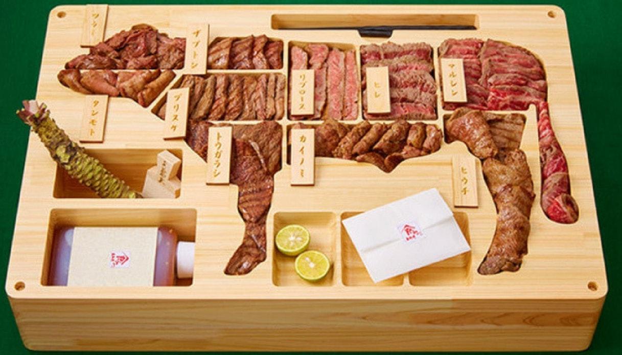 Il porta pranzo da 2300 euro con la carne pregiata giapponese