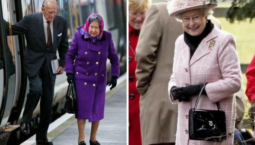 Non indovinerete mai cosa c'è nella borsa della regina Elisabetta