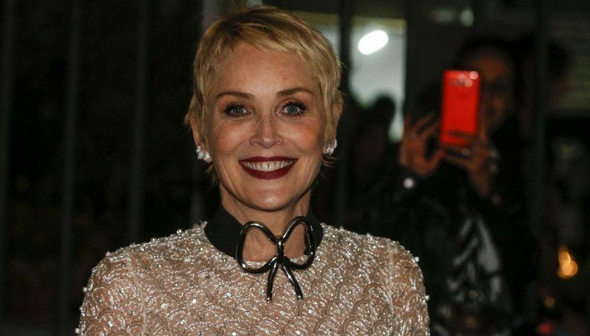 Sharon Stone farà una miniserie con Sorrentino