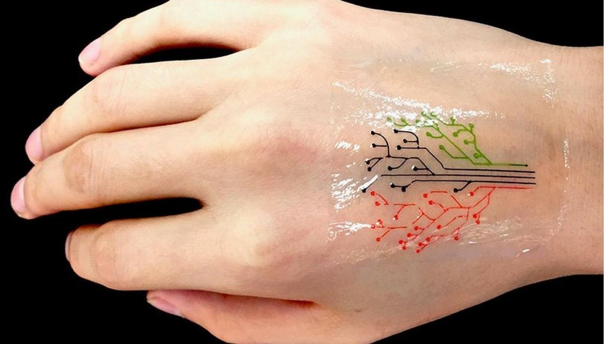 """Arriva il tatuaggio """"vivente"""" stampato in 3D"""