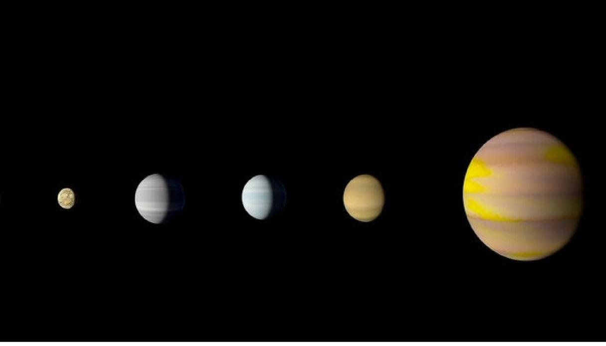 La Nasa e Google scoprono un piccolo Sistema Solare