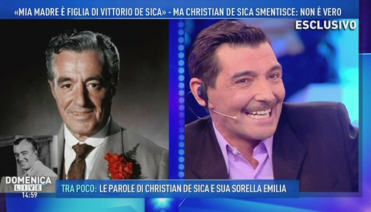 """""""De Sica era mio nonno"""" la rivelazione dell'attore spagnolo"""