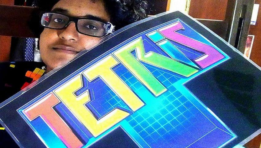 Noorul, la donna che vuole sposare il gioco Tetris