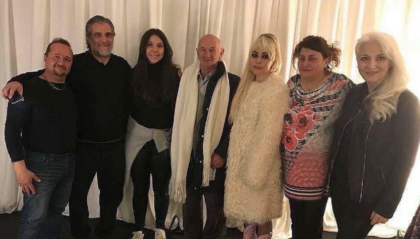 Lady Gaga incontra per la prima volta i parenti siciliani