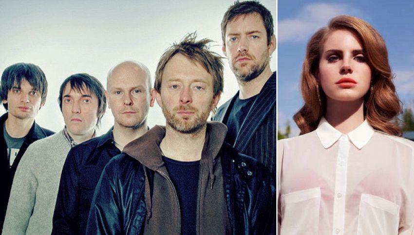 Perché i Radiohead sono in causa con Lana del Rey