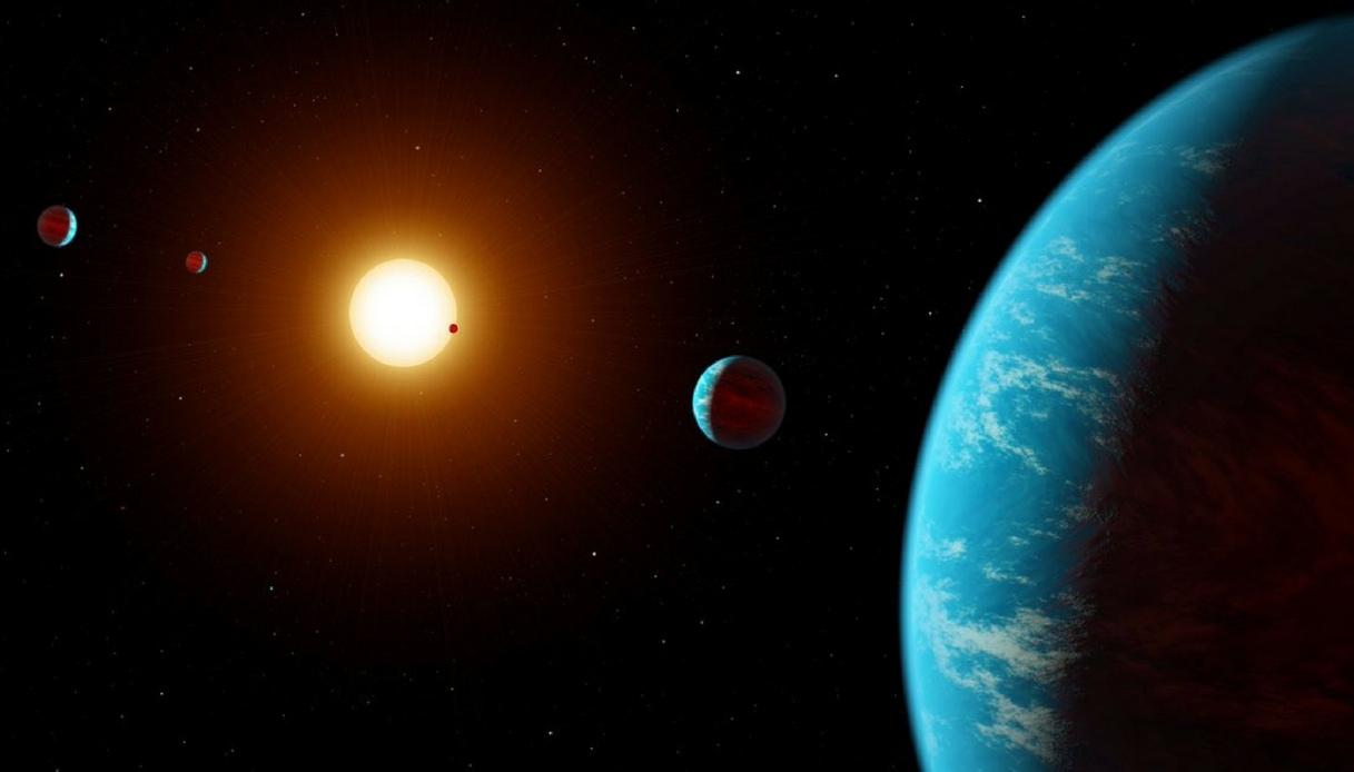 Sono stati scoperti 5 nuovi pianeti e una stella